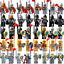 8pcs-Knights-Gladiatus-Military-Army-Soldier-Captain-Minifig-Castle-Minifigures thumbnail 1