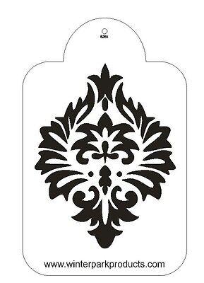 Damask Stencil For The Designer Stencil for Decorating Cake #S265