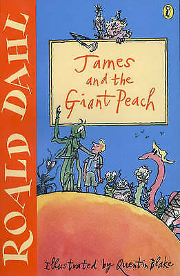 1 of 1 - James and the Giant Peach by Roald Dahl (Paperback, 2001)