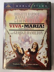 Viva-Maria-World-Films-Widescreen-Bilingual-New-Sealed-DVD