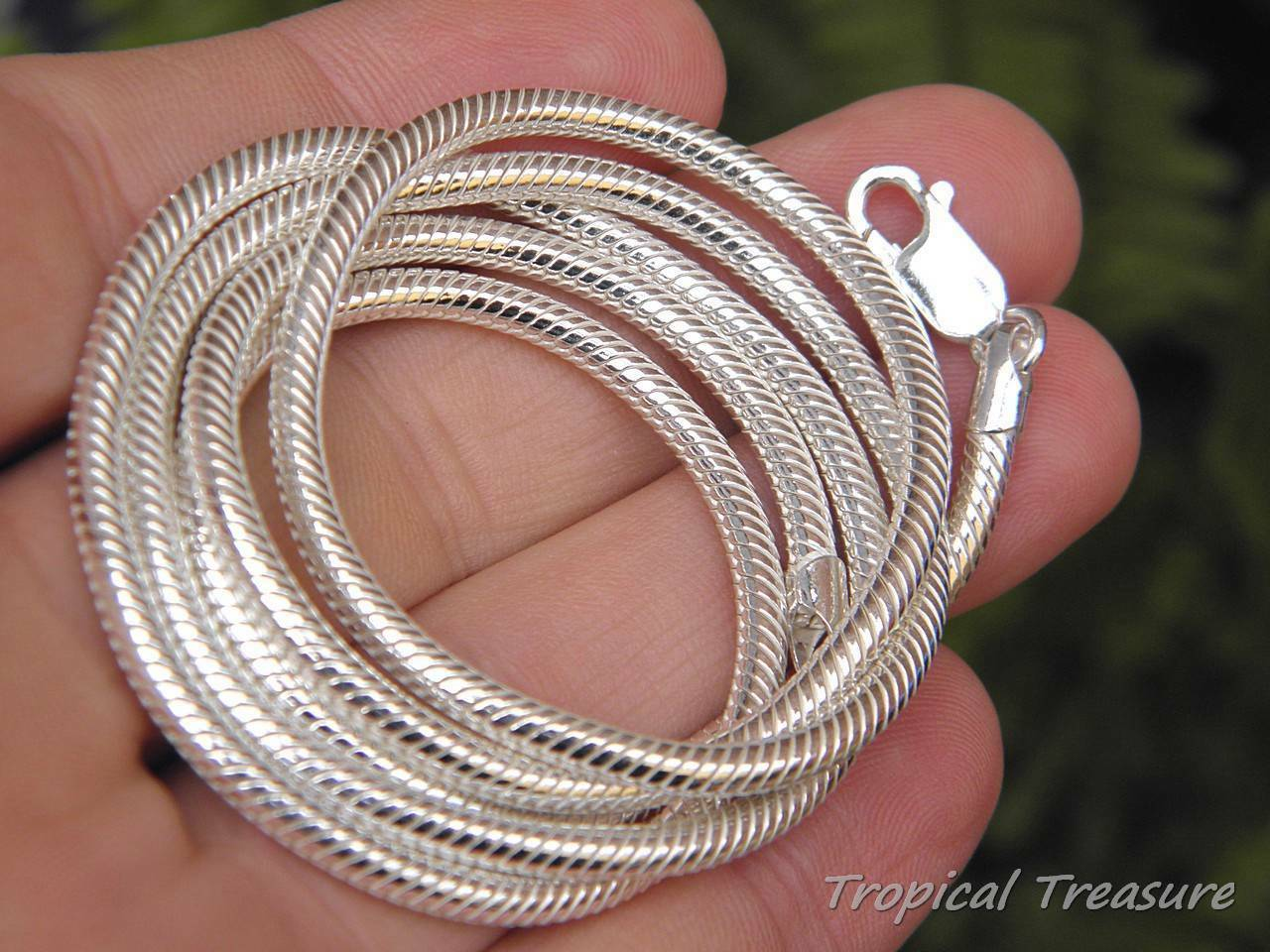 16 Inch Silver Snake Chain with 2 Inch Extension  925 Sterling Silver  16 Plus 2 Sterling Silver Snake Chain  1mm Snake Chain