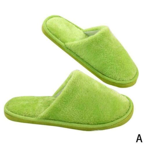 Anti-slip Shoes Soft Warm Cotton Sandal Home Indoor Slippers Man For Women/' W8Y0