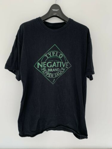 Vintage Type O Negative Band Tee Shirt Carnivore L