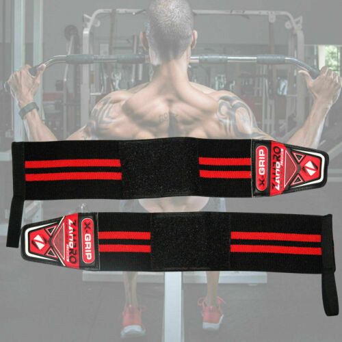 Wrist Support Straps bands Weight gym support weight lifting wraps Powerlifting