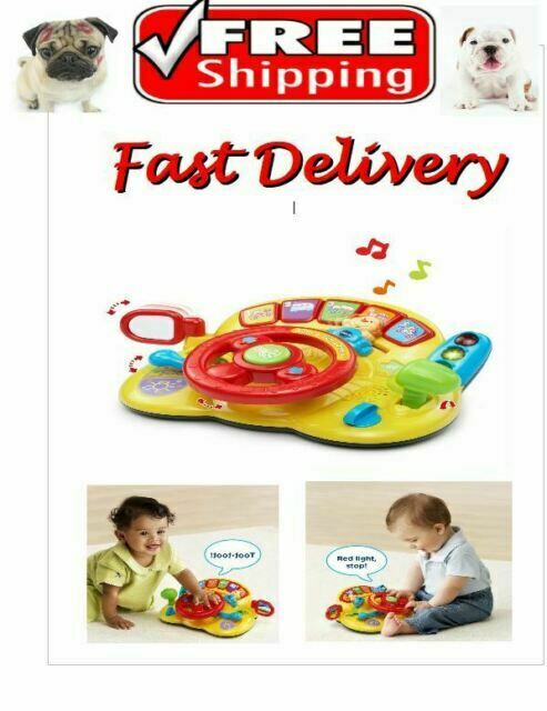 Baby Learn Drive Music Toy Development Activity Toddler Educational Vtech Infant