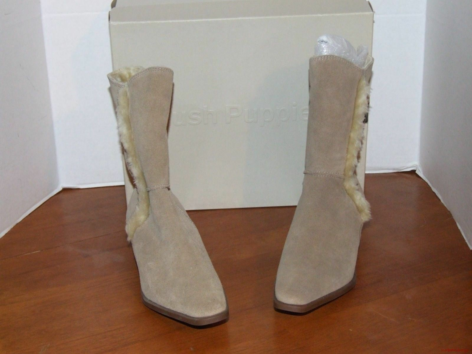 Hush Puppies Cocoa Cocoa Puppies Taupe Suede Stiefel 8f7b70