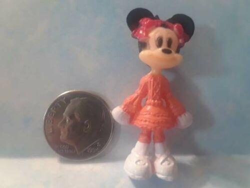 Miniature Doll Tiny Dollhouse Toy Barbie Minnie Mouse