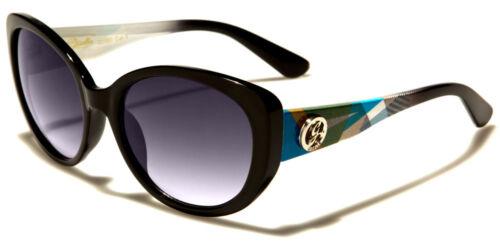 GISELLE Design Cat Eye OVALE SLIM Tonalità delle donne signore Occhiali da sole 100/% UV400 2210