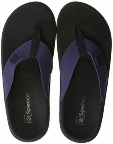 8 Medium Spenco Pure Women/'s Recovery Sandal Patriot Blue