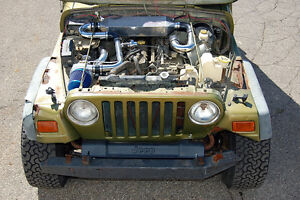 Image Is Loading Jeep Wrangler 00 06 Tj Offroad Turbo Kit