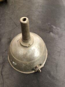 Early Vintage Metal Oil Dispenser