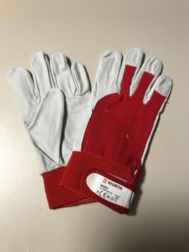 8 4x Würth Montage Handschuh Schutzhandschuhe Protect Basic Gr