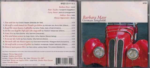 BARBARA MAYR - German Songbook