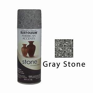 Rust Oleum American Accents Stone Textured Spray Paint Vases Pots
