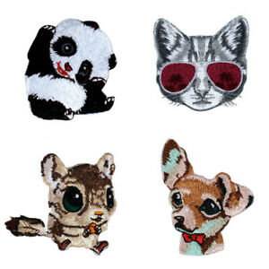 Animals-Badges-Embroidered-Iron-on-Patch-Dress-Coat-DIY-Hat-Bag-Crafts