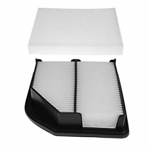 Cabin Air Filter Cleaner Set For HONDA CRV 2012-14 CR-V 17220-R5A-A00 Engine