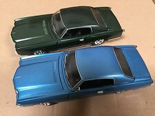 1:24 1970 Chevy Monte Carlo SS454 Blue & Green 2pc set by Saico without box