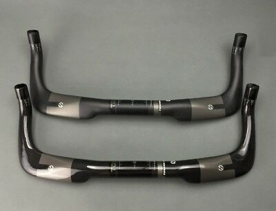 Triathlon bicycle bullhorn Bar 31.8 mm handlebar 40 42 44 46cm carbon fiber TT