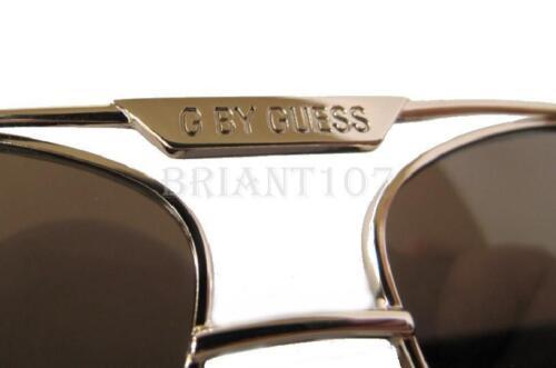 Case $75.00 New GUESS GGU2073 Gold//Brown Mens Sunglasses