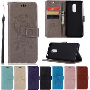 Pour-Xiaomi-Redmi-S2-4X-5A-Note-4X-5A-Clapet-Slim-Peint-Cuir-Portefeuille-Housse