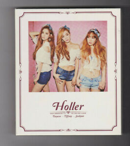 Girls-Generation-TTS-Holler-2nd-Mini-Album-with-PHoto-Card-and-Ad-Sheet-Kpop