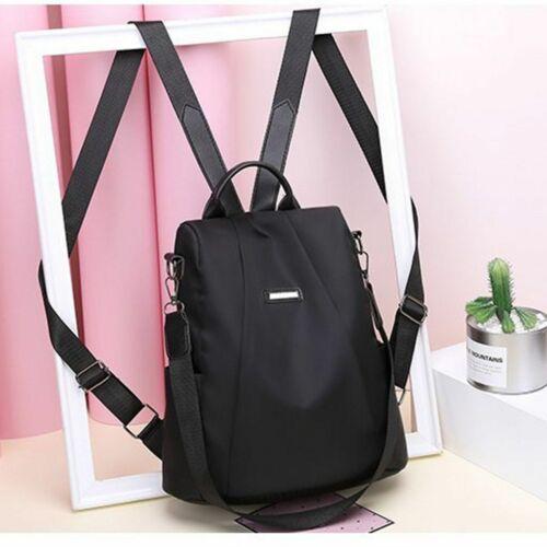 Anti-Theft Waterproof Backpack Women Purse Shoulder Rucksack Oxford Travel Bag