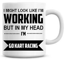 IN MY HEAD I/'M RUNNING Novelty//Funny Printed Coffee//Tea Mug Gift//Present 379