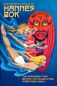 NEW-THE-FANTASTIC-FICTION-OF-HANNES-BOK-3-Fantasies-by-Bok-HC-omnibus