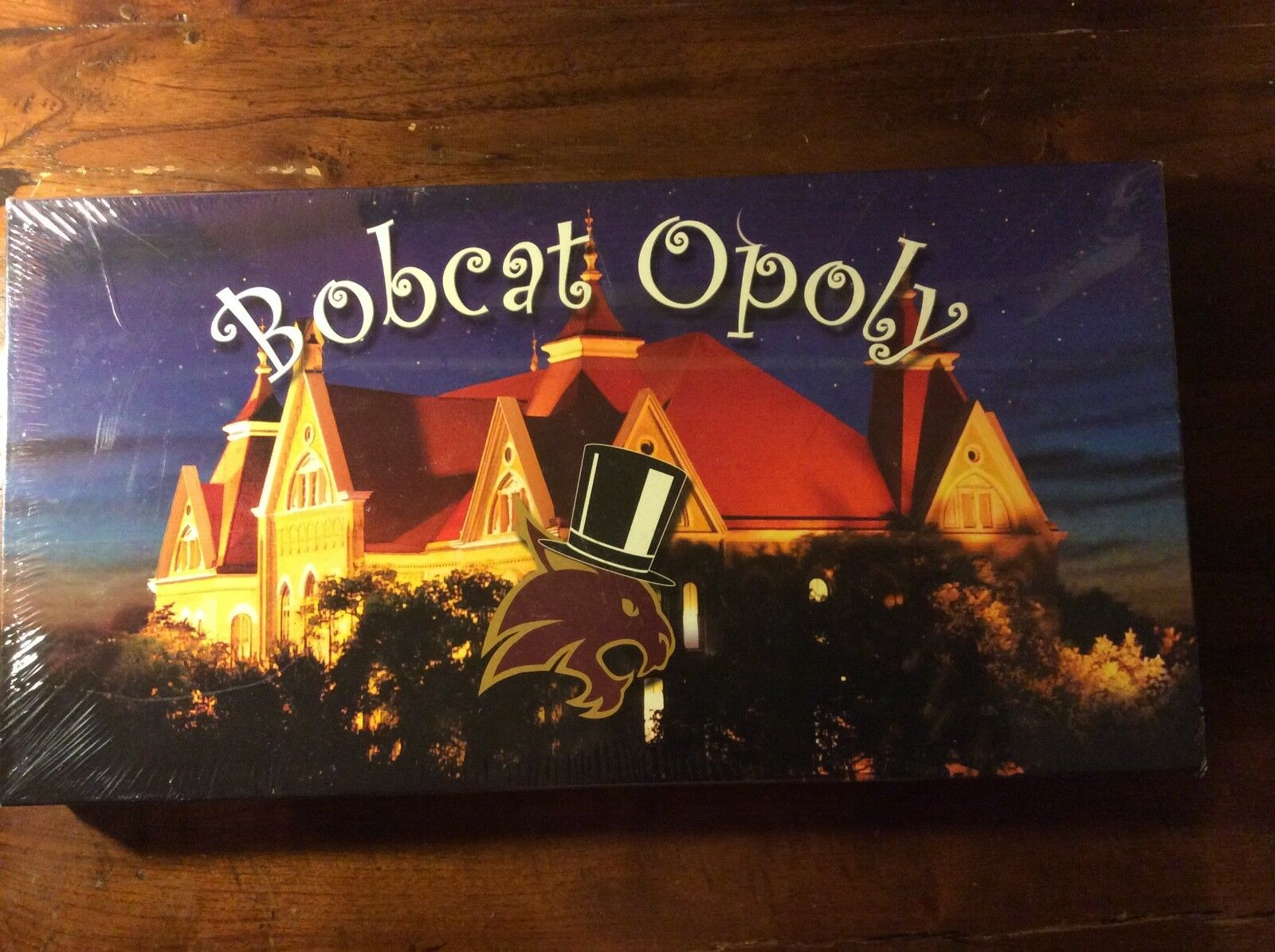 Bobcat Opoly Texas State University Monopoly-Like Game