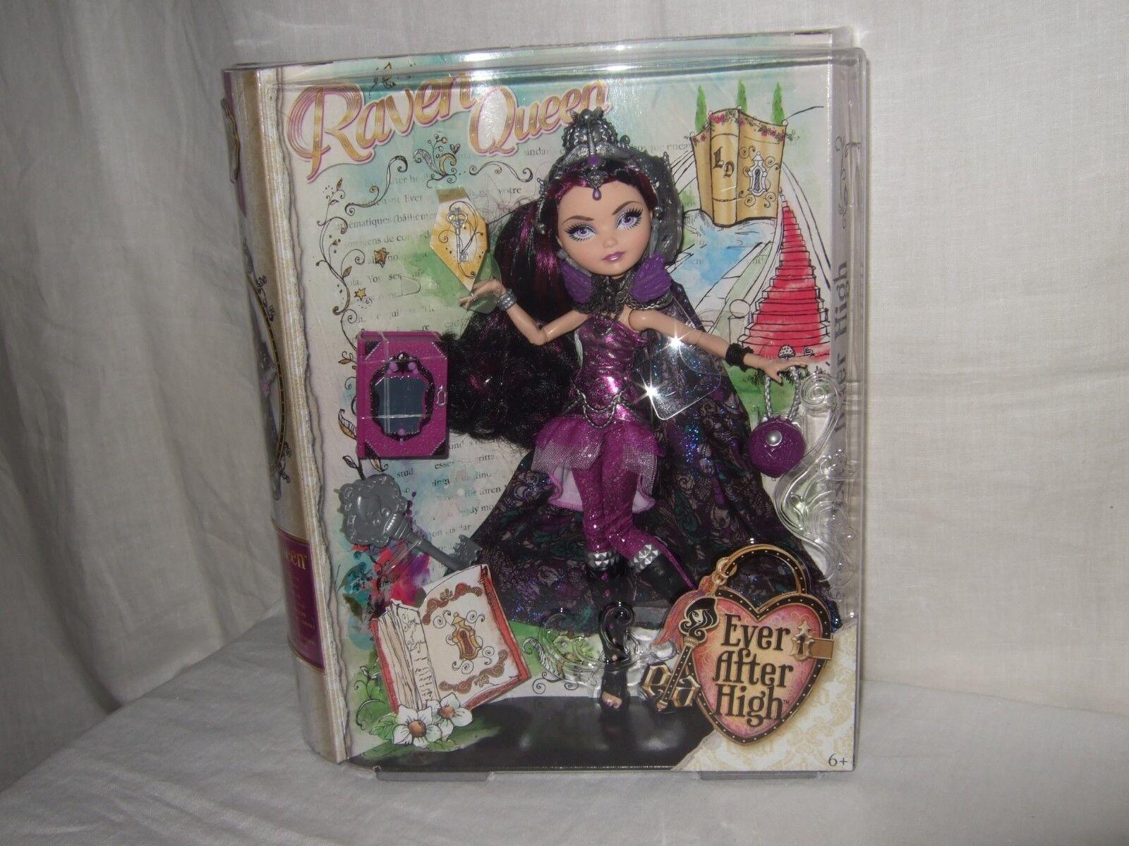 "Ever After High   ""Raven Queen"" – Puppe -  NEU OVP    von Mattel    BCF48"