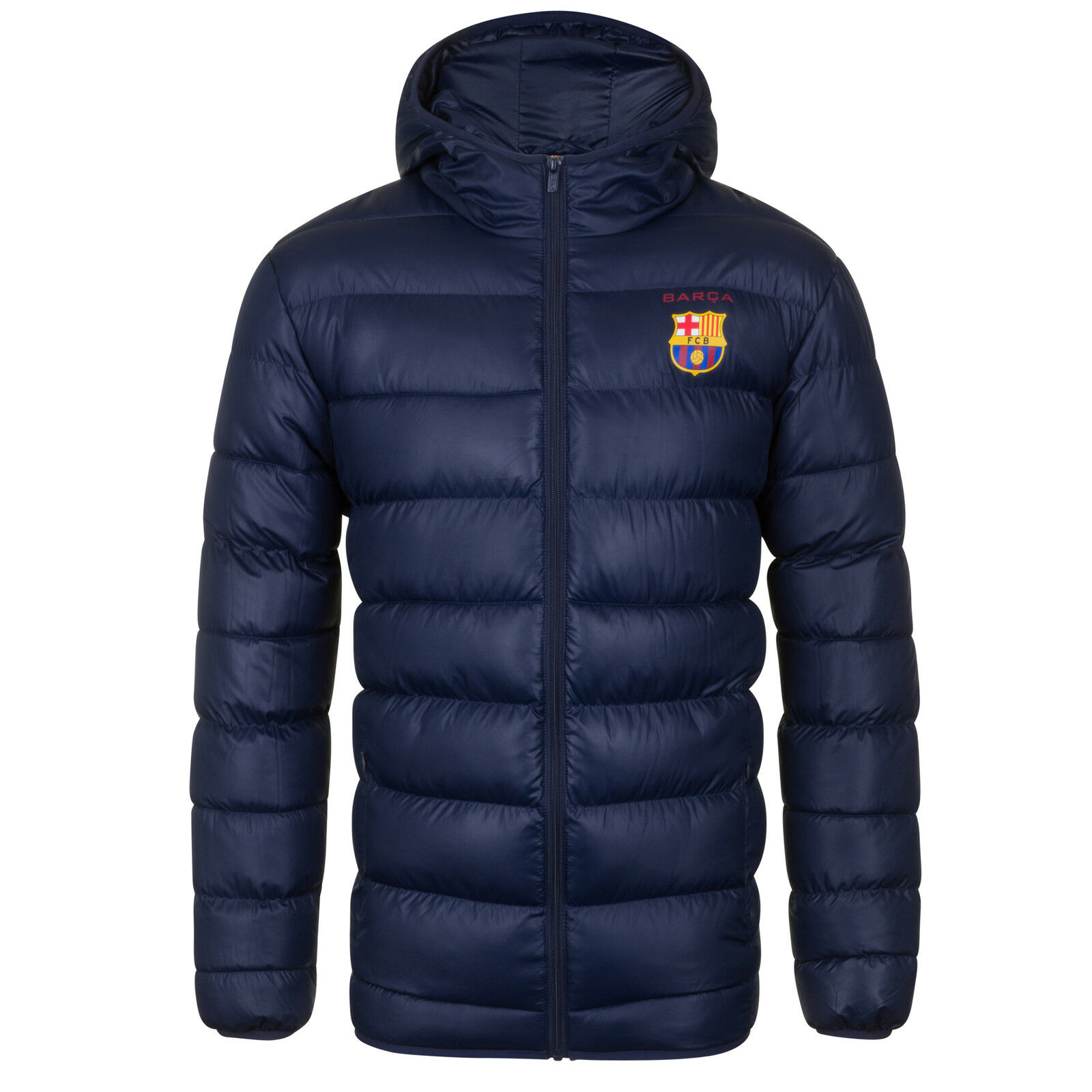 Giacca invernale trapuntata originale originale trapuntata FC Barcelona - con cappuccio - uomo d2336f