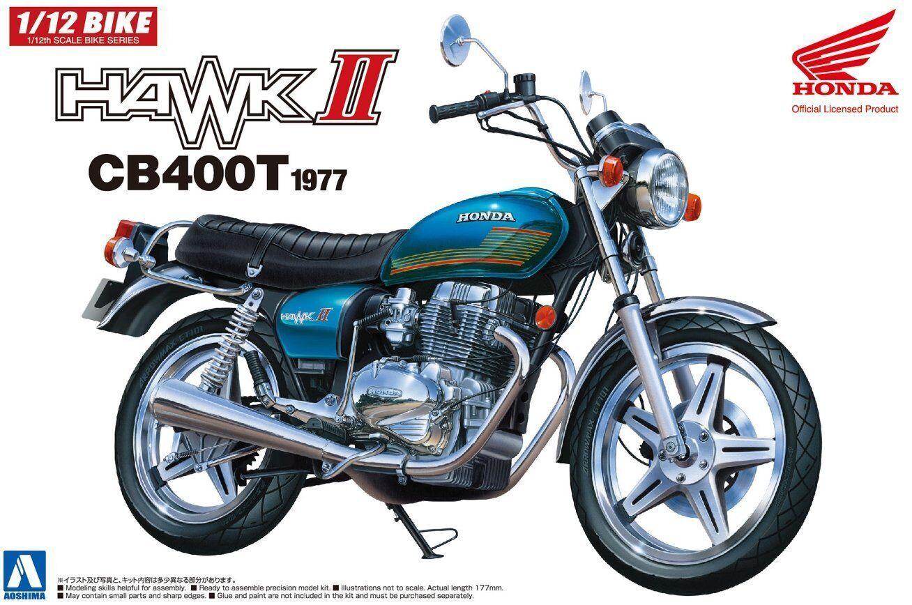 Aoshima Honda Hawk2 CB400T 1 12 Plastic model