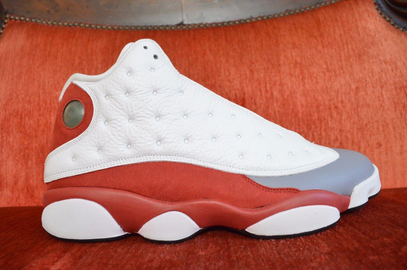 New Air Jordan 13 XIII Retro Grigio Toe Scarpe da Ginnastica 414571 126 Size 12 OG ALL