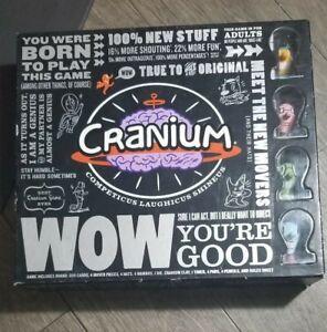 Cranium-Wow-You-039-re-Good-Board-Game-2007-Cranium-Games-Complete