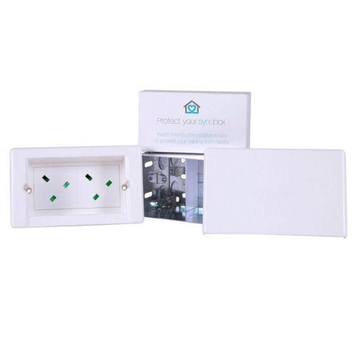 Syncbox SB-Power Power Starter Kit avec 2 x power modules fixations Blanc NEUF