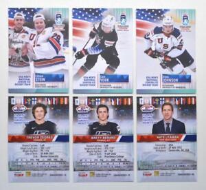 2021 BY cards IIHF U20 World Championship Team USA BASE Pick a Player Card