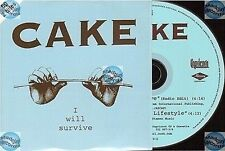 CAKE I WILL SURVIVE france french CD SINGLE card sleeve