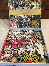 Christian Lacroix Papier Glam'azonia 2sided Jigsaw Puzzle 2014 36 Pc Paris