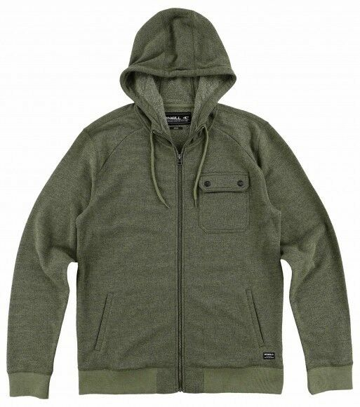 O'Neill Imperial Zip Hoody (M) Olive