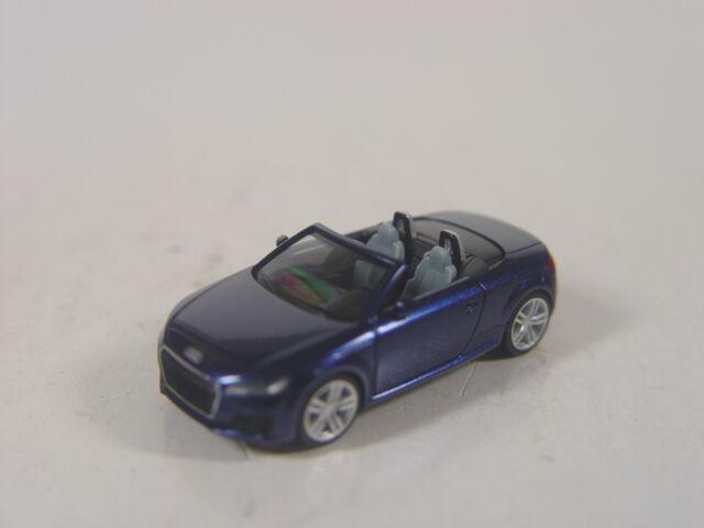 Audi TT Roadster blaumet.  - Herpa HO 1:87 - 038409  #E