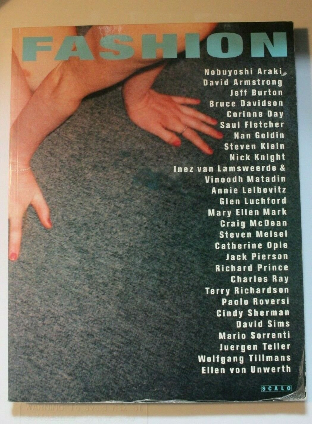 Fashion - Photography of the 90's German Book (Scalo Publishers / 1996) 2