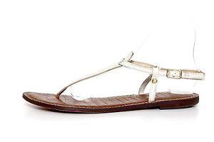 922a47eada2759 Sam Edelman Women s Gigi White Slingback Thong Sandals 5688 Size 8M ...
