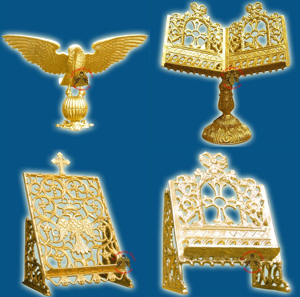 Orthodox Holy Gospel Altar Table Aluminum Stand 4 Styles Evangelium Altar Kirche