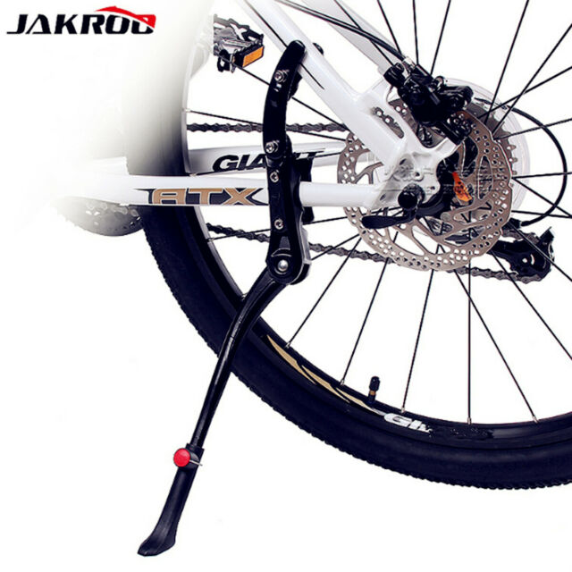 Adjustable MTB Mountain Bike Bicycle Cycling Rear Kickstand Prop Side Stand