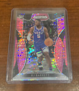 RJ-Barrett-2019-20-Panini-Prizm-Draft-Pick-Rookie-Card-66-Pink-Pulsar-Duke