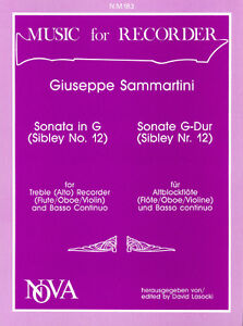 Sonata In G Treble Recorder Ab 7 Expires Decem Treble Recorder