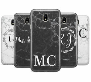 finest selection fe20b b8e1d Details about PERSONALISED MONOGRAM MARBLE INITIALS MOBILE PHONE CASE FOR  SAMSUNG J3 2017