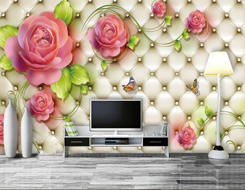3D Wunderschöne Rosa 74 Tapete Wandgemälde Tapete Tapeten Bild Familie DE Summer | Kaufen  | Adoptieren  |