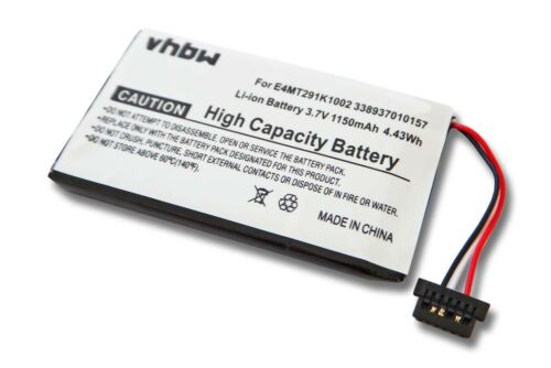 Akku Navi Batterie für MITAC Mio E4MT291K1002 338937010157 1150mAh