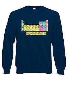 TAVOLA-PERIODICA-SCIENZA-educativo-smanettone-Felpa-maglia-pullover-AJ06